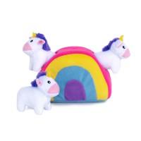 Zippy Burrow - Unicorns in Rainbow