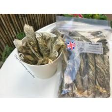 白魚皮扭紋柴 (短) 250克