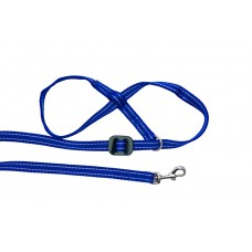 All-in-one Clip to Collar (Blue/White)