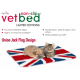 防滑寵物床墊 - 英國國旗設計